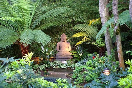 Garden Buddha: The Gardens, Secret Gardens, Buddha Statues, Buddha Gardens, Gardens Landscape, Gardens Buddha, Tropical Gardens, Gardens Design, Gardens Statues