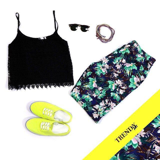 TROPICAL Outfit- TrendiyArt.com