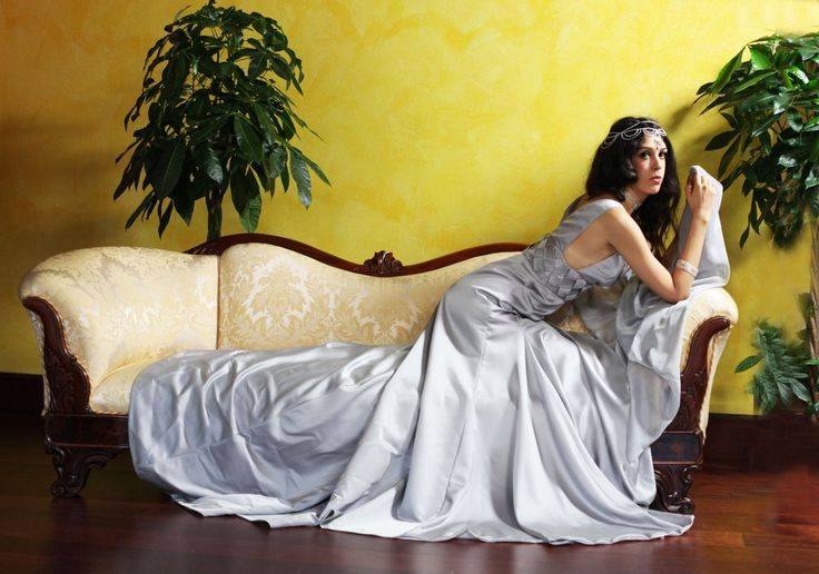 Martina Couture SS 2016 IMAGO Collection - Sneak Peak of the Duchess Grey Gown -