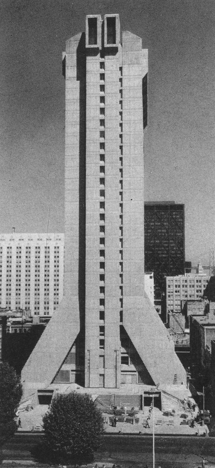 Holiday Inn Hotel, San Francisco, California, 1970 (Clement Chen & Associates with John Carl Warnecke & Associates)