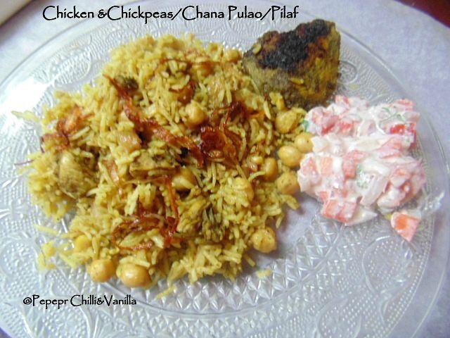 how to make chana and chicken pulao ,chicken and chickpea pulao,murg kabuli chana pilaf/pulo,Chana and Chicken Pulao recipe,Chickpeas/Kabuli Chana and Chicken Pulao Recipe