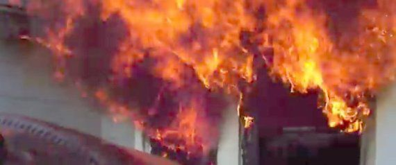 This Helmet Camera's Epic Firsthand Perspective Makes Us Respect Firefighters Even More