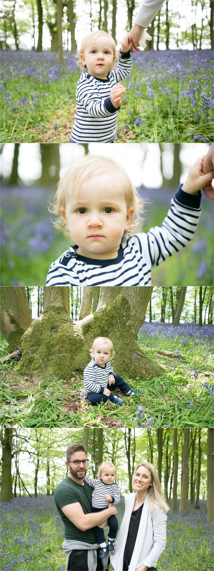 saffron walden family photography in bluebell woods, see more here http://rebeccaprigmorephotography.com/first-birthday-shoot-bluebell-woods-saffron-walden/