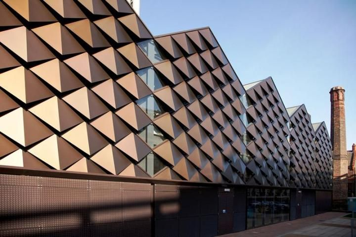 Anodised Aluminium Cladding - University of Liverpool Heating Infrastructure Project