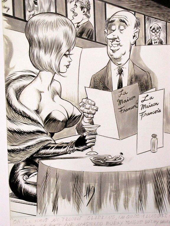 Bill Ward art  https://en.wikipedia.org/wiki/Bill_Ward_(cartoonist)