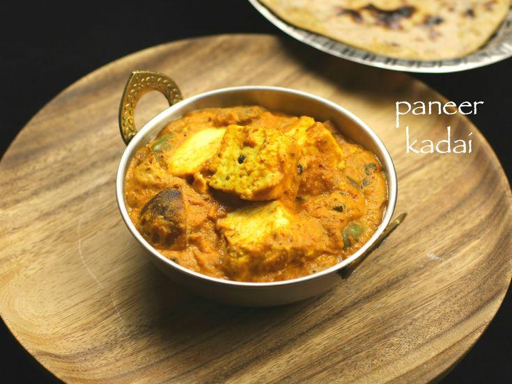 kadai paneer gravy recipe, restaurant style kadai paneer gravy recipewith step by step photo and video recipe. kadai paneer recipe is punjabi cuisine dish.
