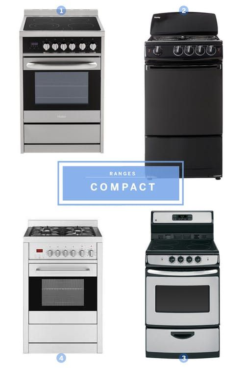 Well Designed Compact Liances For Small Kitchens Apartment Therapy