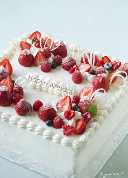 バースデーケーキ : Lovely-Jubblyな日々