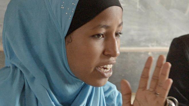Balkissa Chaibou, the girl who said 'no' to marriage.