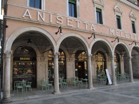 Caffè Meletti   The best cafe in the world   Le Marche another Italy   Scoop.it