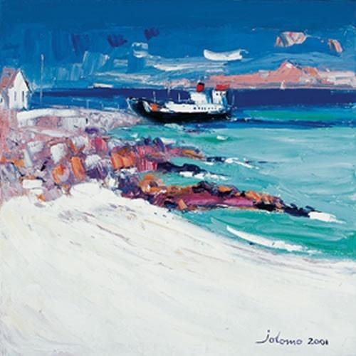 Art Prints Gallery - Three O'Clock Ferry, Iona, £30.00 (http://www.artprintsgallery.co.uk/John-Lowrie-Morrison/Three-O-Clock-Ferry-Iona.html)