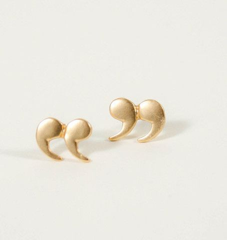 quoted stud earrings $14...cool earrings I'm gonna buy&send to Liz since shes an English Major& Katie since shes in Linguistics they'll like them& show their personalities :)  http://keep.com/candystore-collective-quoted-stud-earrings-by-loislane/k/nhBo-fgBJ7/