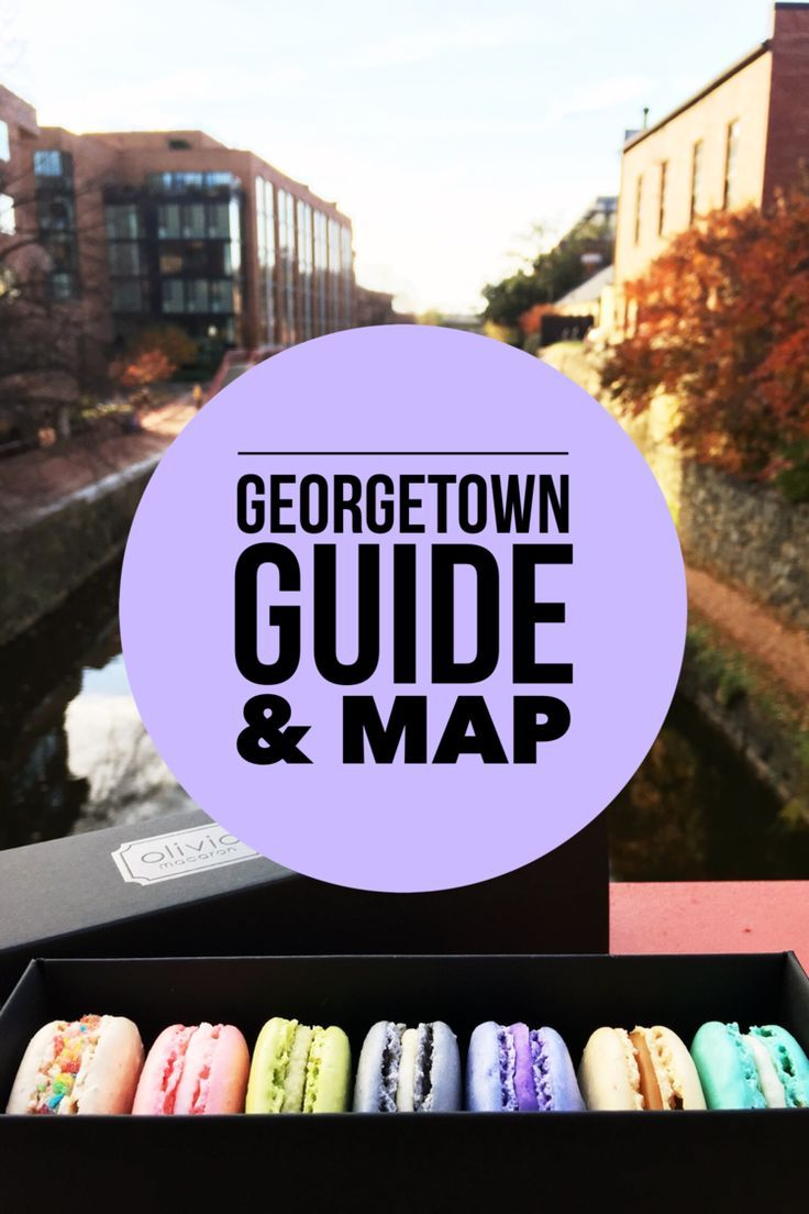 Washington Dc Map Of Attractions%0A    Things to Do in Georgetown