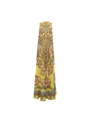 ROBERTO CAVALLI Roberto Cavalli Aztec Long Dress. #robertocavalli #cloth #https: