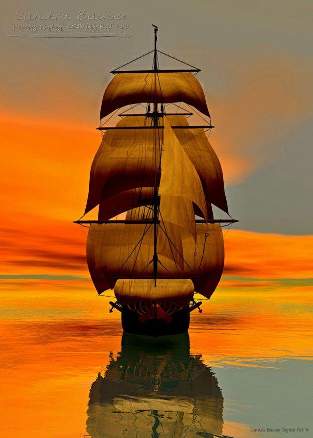 At Full Sail by sbdigital in Saling Ships: