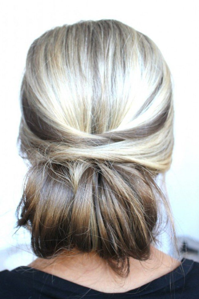 The Perfect Updo! 40 Stunning Hairstyles You Can Do Yourself: Chic Chignon