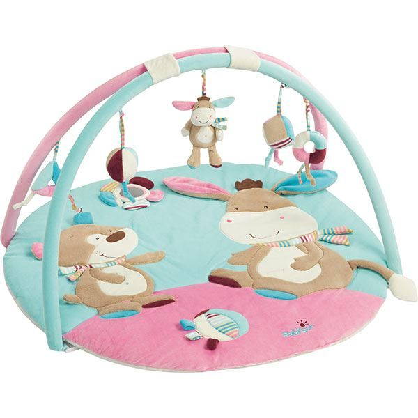 25 best ideas about krabbeldecke mit spielbogen on - Tapis d eveil gymini super deluxe monkey ...