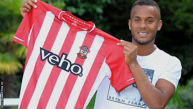 Ryan Bertrand, on loan from Chelsea