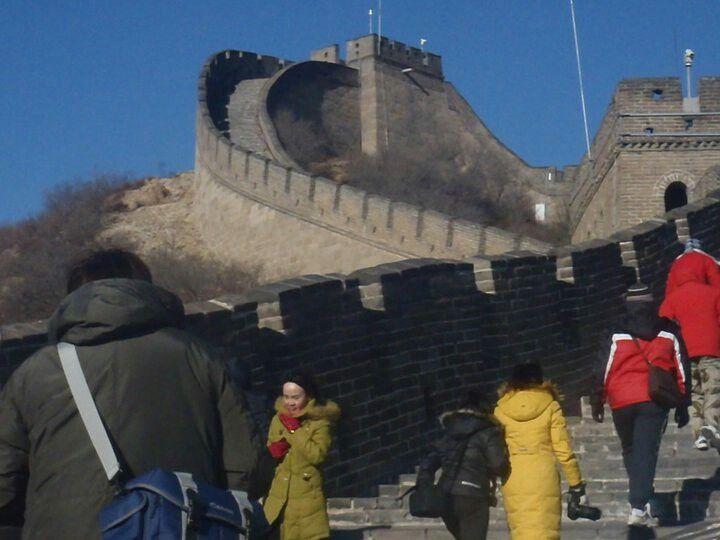 Gran muralla China, por Pedro Gelves