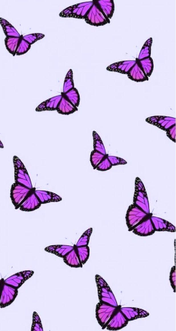 Pin On Disney Wallpaper Butterfly Wallpaper Iphone Purple Butterfly Wallpaper Purple Wallpaper