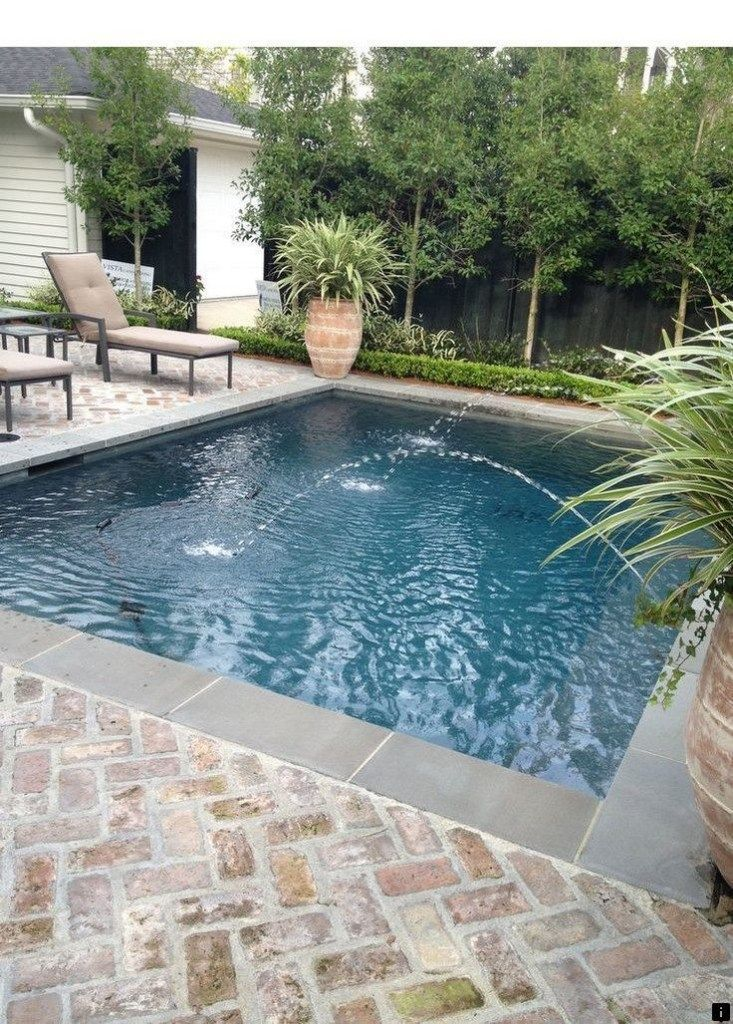 40 Backyard Privacy Ideas With Pool To Relax With Your Family 25 Small Pool Design Backyard Pool Designs Small Backyard Pools