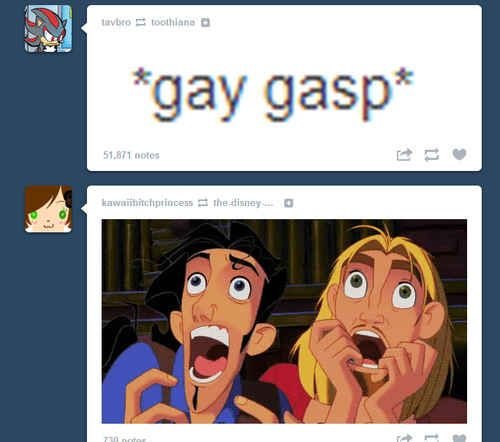 25 Moments Of Tumblr Serendipity. I love their faces...