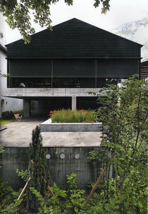 Valerio Olgiati - architect's studio in Flims 2008