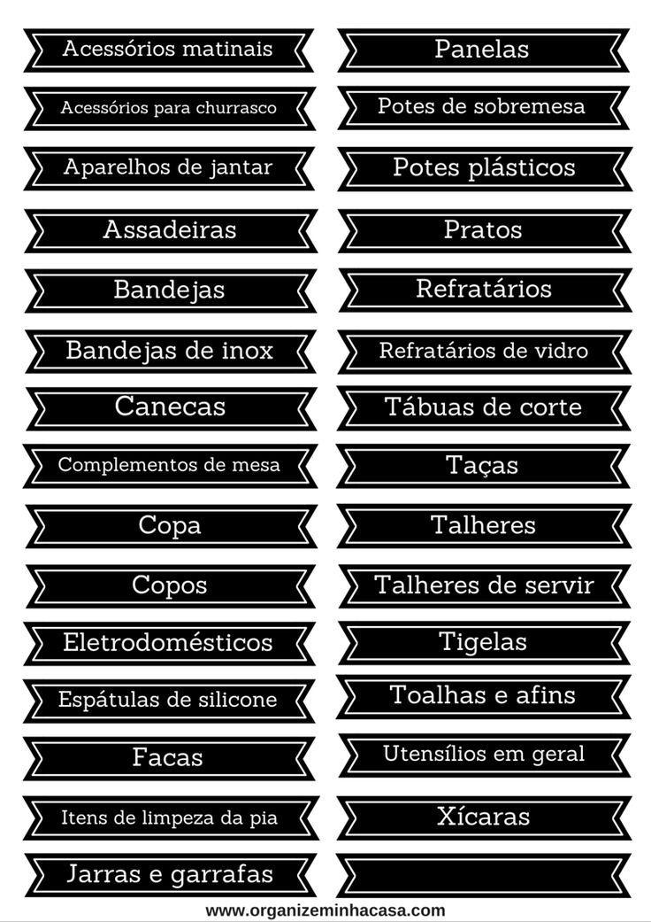 ORGANIZE MINHA CASA | Dicas de organização para simplificar sua vida.