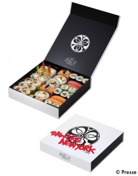 Lenny Kravitz designer pour le Sushi Shop