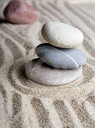 Zen Garden by Matthew Trommer, via Dreamstime