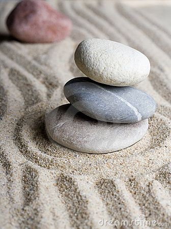 Zen Garden by Matthew Trommer, via Dreamstime