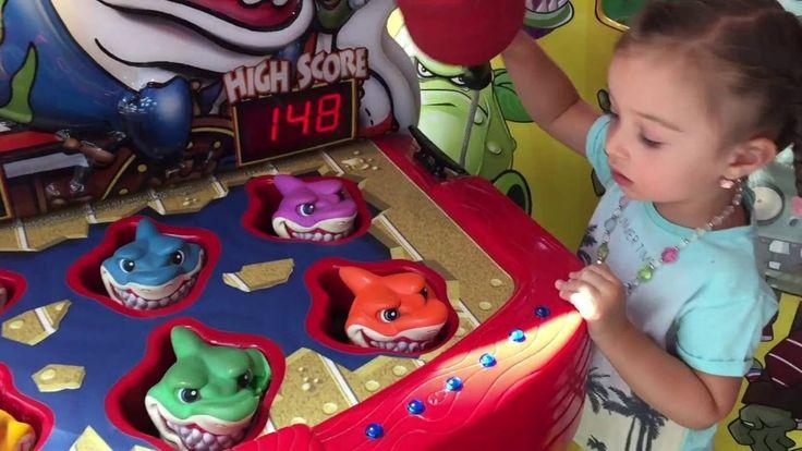 VLOG Игровой Центр Игры для детей Развлекательный центр Видео для детей ...