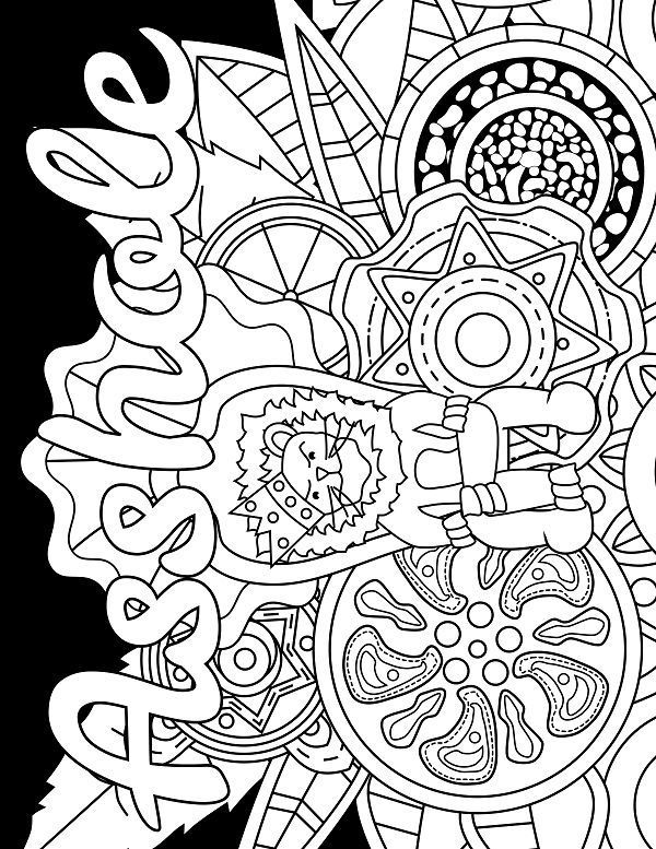 3460 Best Adult Coloring Pages Images On Pinterest