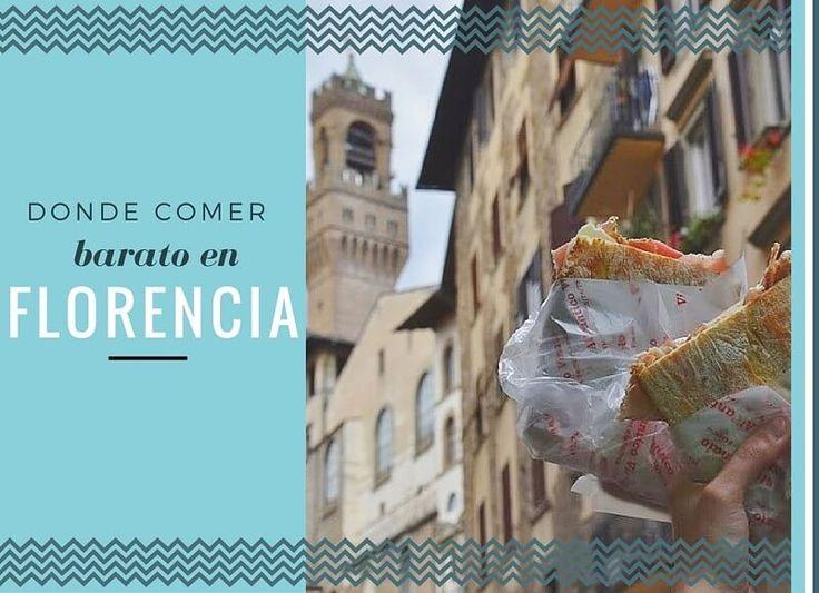 ¿Dónde comer barato en Florencia? Vamos a recomendarte 5+1 restaurantes baratos donde poder disfrutar de una gastronomía rica y lowcost