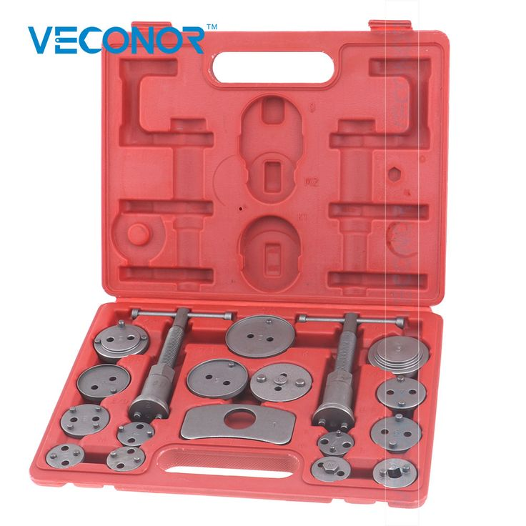 VECONOR 18pcs brake caliper piston rewind wind back tool kit for VW Audi Ford BMW. Yesterday's price: US $18.03 (14.91 EUR). Today's price: US $12.80 (10.53 EUR). Discount: 29%.