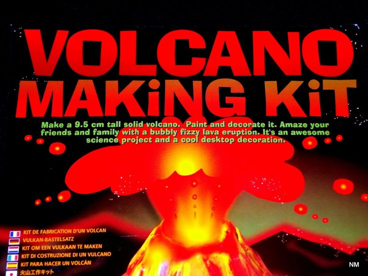 Volcano Making Kit - Unboxing