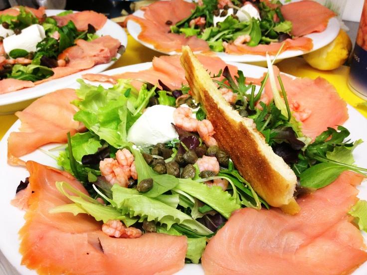 #lunch@KOKO Insalata di mare del Nord