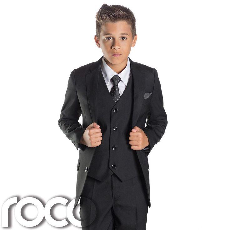 Best 25  Boys Black Suit ideas on Pinterest | Black suits, Black ...