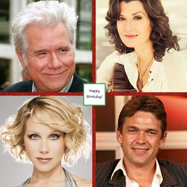 🙂 #Smile for November 25, 2017: OTD, John Larroquette, Amy Grant, Christina Applegate, & Dougray Scott were born