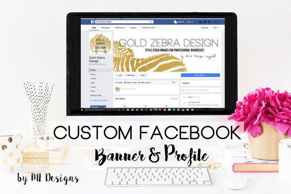 This is a Custom Design Facebook Banner and Profile image  and if you need some help adding a link to your  website of other sites.  If you bought a Customer banner for your Etsy shop I can help to match for your Facebook page or need a new custom look for Twitter and a profile image I can help.    You may be new to all this and need some help on adding the link to your social sites or website I can help with this as well. I will need a temp login to add what you need on the site  I can load…