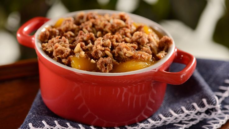 This classic Peach Cobbler is a favorite at Liberty Inn at American Adventure pavilion at Epcot, inspired from a recipe featured in What Mrs. Fisher Knows About Old Southern Cooking, the first cookbook authored by an African-American, originally