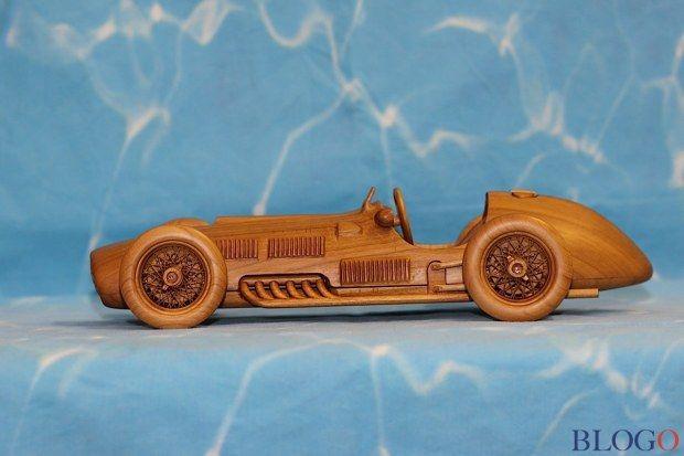Modellini in legno: opere d�arte in miniatura