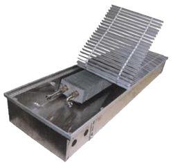 Внутрипольные конвекторы отопления EVA COIL - K Встраиваемый в пол конвектор Артикул: нет Внутрипольный конвектор с естественной конвекцией EVA COIL - K, без вентилятора, решетка анодированная (серебристая). Гарантия производителя.