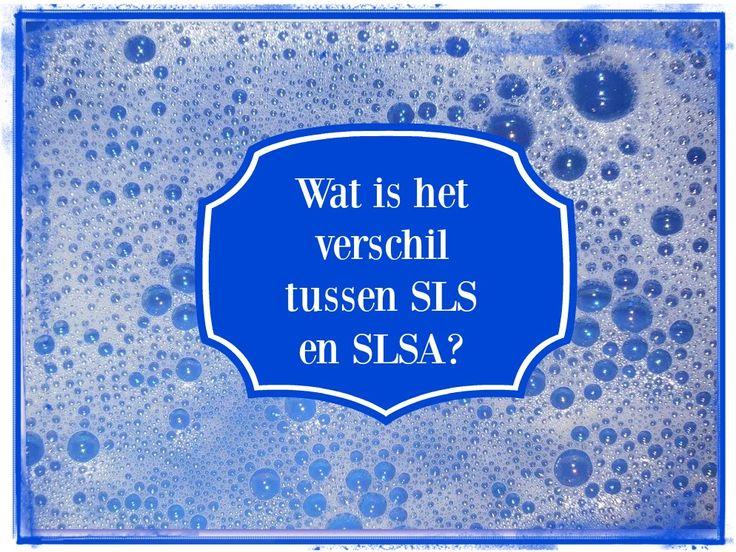 Lees hier wat het verschil is tussen het natuurlijke SLSA en het schadelijke SLS.