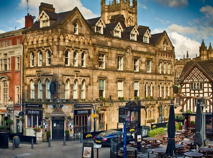 The Mitre Hotel is centrally located in Manchester, steps from Manchester Cathedral and Exchange Square. This hotel is close to University of Manchester and Old Trafford. http://www.lowestroomrates.com/Manchester-Hotels/The-Mitre-Hotel.html?m=p #MitreHotel #Manchester