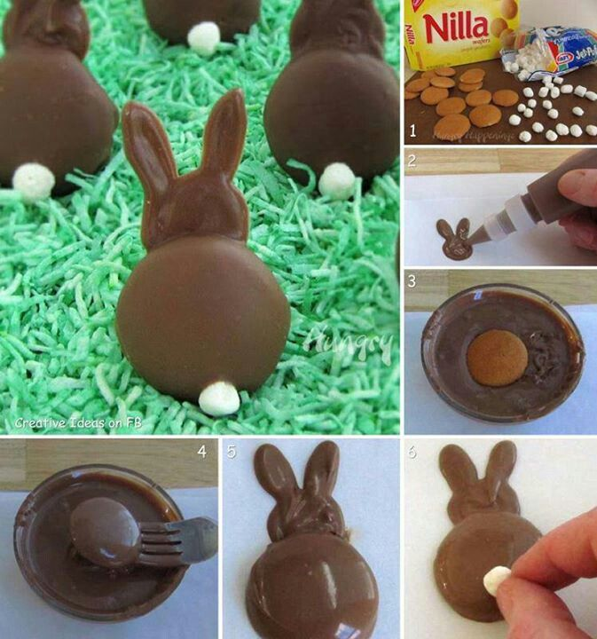 Coelhinho de chocolate