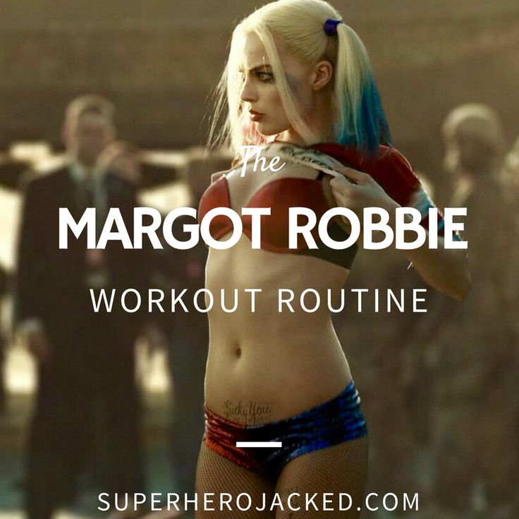 Margot Robbie Workout