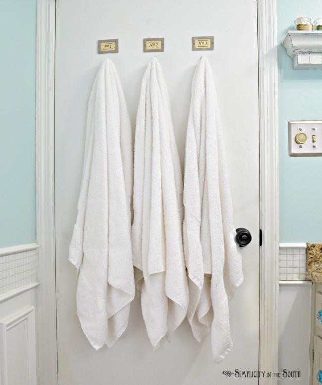 Vintage Inspired Guest Bathroom Reveal Bathroom Doors