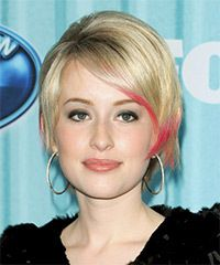 Alexis Grace Hairstyle: Alternative Short Straight Hairstyle