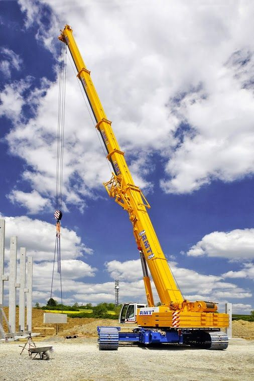 Liebherr - Fist job of an LTR 1220 telescopic crawler crane